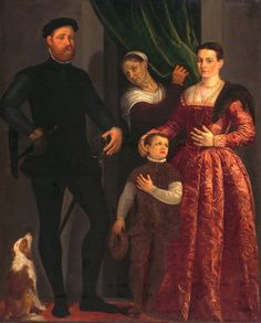 Giovanni Antonio Fasolo, family portrait