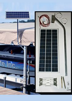 1000 images about solar marine chargers on pinterest for Boat lift motors 12 volt