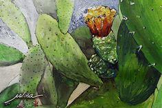 Professional print of Cactus de Betancuria