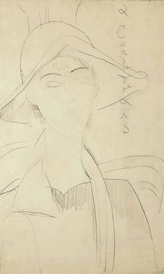 AMEDEO MODIGLIANI (1884-1920) PORTRAIT DE GABRIELLE                                                                                                                                                      More