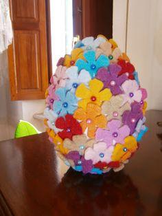 L'ora del te: Uova di Pasqua in feltro