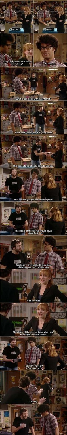 This, jen. Is internet (My fav The IT Crowd episode :D  )