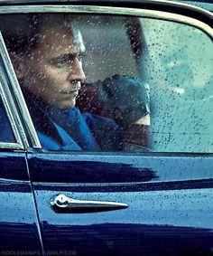 hiddlemanips:  Have a Tom in a car in the rain edit. Original: x