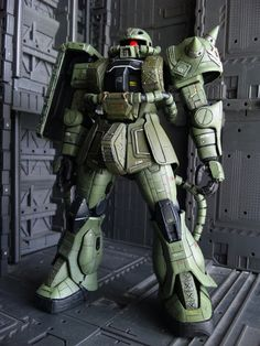 MG 1/100 Zaku II Customized Build   Gundam Kits Collection News and Reviews