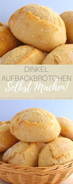 Gesünder als gekaufte Brötchen - Aufbackbrötchen selbst machen Vous êtes à la bonne adresse pour diy clothes Nous regroupons les p - Dog Cake Recipes, Pizza Recipes, Baby Food Recipes, Bread Recipes, Food Baby, Egg Recipes, Casserole Recipes, Drink Recipes, Paleo Recipes