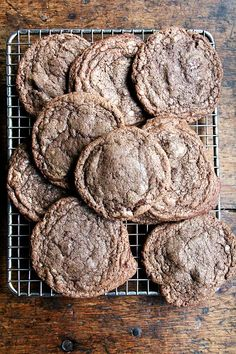 chocolate-chocolate cookies