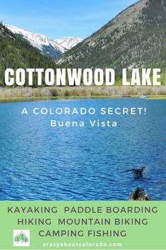 Cottonwood Lake is our family secret on Cottonwood Pass near Buena Vista, CO. Quiet and beautiful with loads of dispersed camping. boarding hiking trails in Colorado to take kids camping Vail Colorado, Breckenridge Colorado, Boulder Colorado, Estes Park Colorado Cabins, Denver Colorado Hiking, Estes Park Camping, Estes Park Hotels, Hikes Near Denver, Colorado Winter