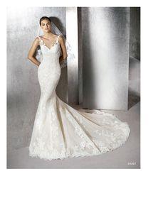 Descubre el catálogo St. Patrick 2016 | St. Patrick San Patrick, Mermaid Wedding, Wedding Dresses, Fashion, Mermaid Wedding Gowns, Brides, Bride Dresses, Moda, Bridal Gowns