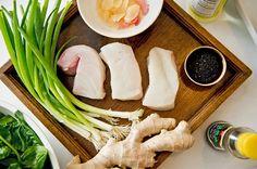 Cod With Sesame and Ginger (Photo: Evan Sung for The New York Times)