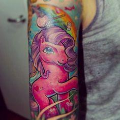 #mylittleponytattoo #mylittlepony #pony #ponytattoo #horse #horsetattoo #tattoo…