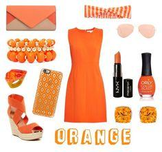 """Orange Tag!"" by allisonawesome7 ❤ liked on Polyvore"