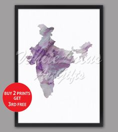 India Map Print Pastel Purple 2 Watercolor Map Pastel Art India Art Print Pastel Home Decor Travel Art Map Purple Art Purple Decor Purple Art, Pastel Purple, Pastel Art, Map Wall Art, Map Art, Pastel Home Decor, Water Color World Map, India Map, Pastel House