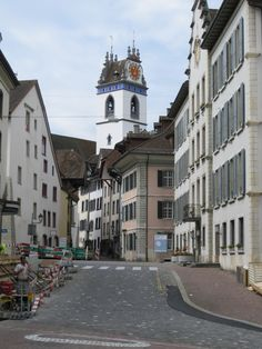 Aarau, Switzerland. My old home and the best town in Switzerland! <3