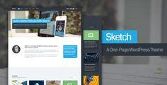 Sketch WordPress Theme - ThemeForest Item for Sale