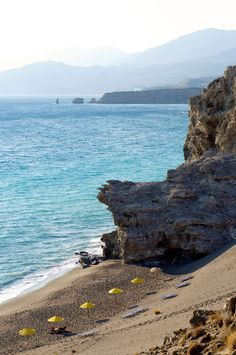 Agios Pavlos beach, Rethymno, Crete island, Greece