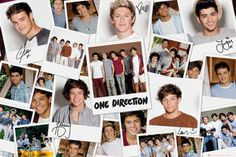 One Direction Polaroids - Official Poster