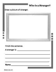 KidZ Learning Connection: Picture It! Write It! A Vocabulary Teaching Strat. First Week Activities, Writing Activities, Classroom Activities, Writing Ideas, Classroom Ideas, Teaching Safety, Health And Physical Education, Stranger Danger, Teaching Strategies