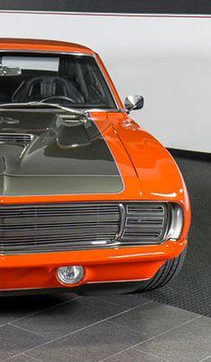 Chip Foose custom design 1969 Chevrolet Camaro equipped with a 572cid 620HP V8 engine #ThrowbackThursday