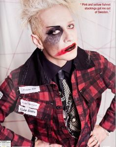 tim skold. You shouldn't have cut your beautiful hair but oh well. And I thought those pink and yellow fishnets were sorta cool. But I liked Shotgun Messiah better than Kingpin