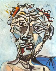 T te d Homme 1971 Pablo Picasso ball of confusion Kubismus Picasso Drawing, Picasso Art, Picasso Paintings, Painting & Drawing, Paulo Picasso, Painting Lessons, Abstract Portrait, Abstract Oil, Abstract Paintings