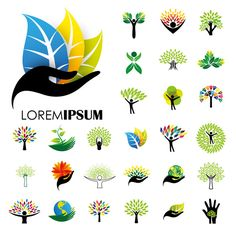 Human life logo icons  by lovelogo on @creativemarket
