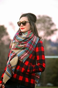 Plaid on Plaid on For All Things Lovely