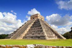 Pirámide de Kukulkan en Chichén Itzá