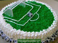 Bolo de Aniversário (de Futebol