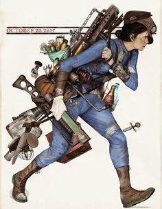 Fallout 4, garbage