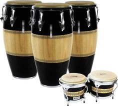 LP Performer Series Conga 3-Piece Set Quinto, Conga, and Tumba. I own this series of LP Congas. Jack Harrell