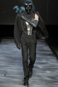 Mugler | Fall 2011 Menswear Collection | Style.com