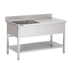 Sink Model ANNA in Stainless steel Flushing Sink Double Sink Sink Catering Sink Units, Bassinet, Catering, The Unit, Shelves, Storage, Furniture, Diep, Rotterdam