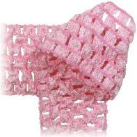 Crochet by the Yard - soft stretchy fabric, headbands