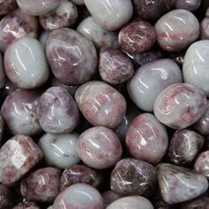 Lepidolite is good for studying and learning. It brings change and awareness. Helps digestion, tendonitis, cramps, constipation, erratic heartbeat, addictions, wrinkles and the nerves. It is useful during childbirth. It is a calming stone good for astral travel and re-birth. Helps distrust, addictive personalities, stress and depression.