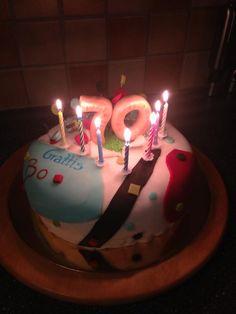birthdaycake, födelsedagstårta, 70, 70 year birthday cake, 70års tårta, tårta, cake, sugarpaste, fondant, fluff, decorations, cake decorations, tårtdekorationer, marsipan