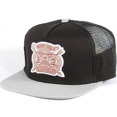 a200f08f2a2 Benny Gold Royalty Side Mesh Trucker Snapback Hat (Black)  31.95