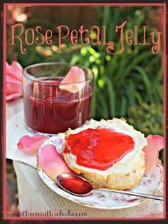 I tasted this at the San Francisco Flower and Garden show. Rebecka demonstrated making it.  It's like liquid sunshine with a powerful rose fragrance: it is absolutely worth trying this.  The rose petal smell is like being immersed in a rose garden with a soft breeze smelling of damask roses in your face.  http://athomewithrebecka.com/rose-petal-jelly-recipe/
