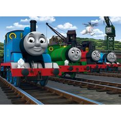 Walltastic Thomas the Tank Engine and Friends Wallpaper Mural from Walltastic part of the Thomas the Tank Engine range available at PreciousLittleOne
