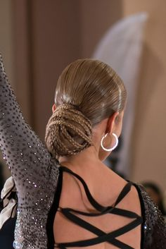 A fun way to incorporate braids in a Standard/Latin Hairstyle!
