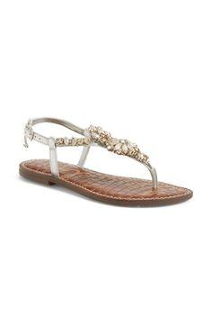 Sam Edelman 'Garen' Embellished Leather Sandal (Women) available at #Nordstrom