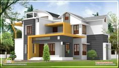 modern house plans in kerala