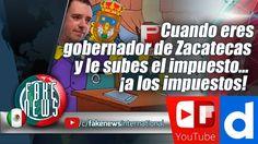 Cuando eres gobernador de Zacatecas y le subes el impuesto… ¡a los impue...