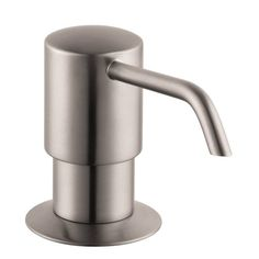 Hansgrohe 04249800 E/S Kitchen Soap Dispenser, Steel Optik