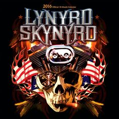 Browntrout Publishing Lynyrd Skynyrd 2016 Calendar Square 12 x 12 In.