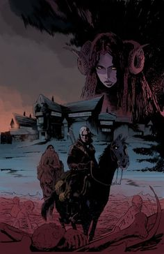Geralt of Rivia Rides Into the Realm of Comics on a Dark Horse