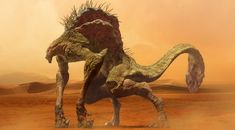 Monster of the desert, keita okada on ArtStation at https://www.artstation.com/artwork/zVw5L