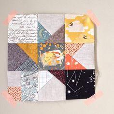 schnitzel and boo mini quilt swap progress | Flickr - Photo Sharing!