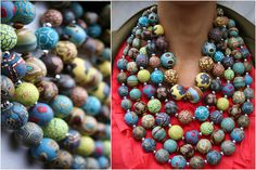 Necklace Scarf – Basic-Bead Fall & Winter Collection   VeruDesigns, LLC