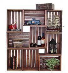 wood crate bookshelf - Google Search