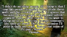 The Maze Runner, I love Thomas... <3